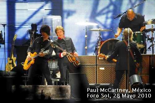 Paul McCartney, México, Foro Sol, 28 mayo 2010