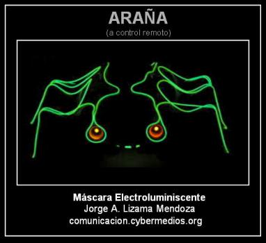 jorge-lizama-cybermedios-araña-electroluminiscente-control-remoto