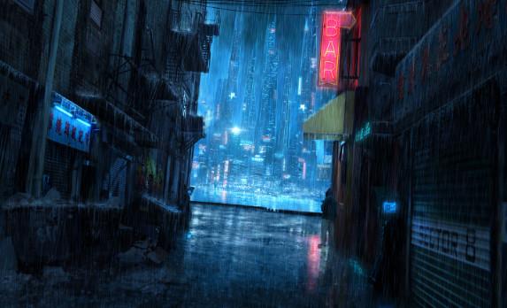 Out of System+Privado Amelie Jorge-lizama-cybermedios-cyberpunk-vida-futuro-tecnologizado