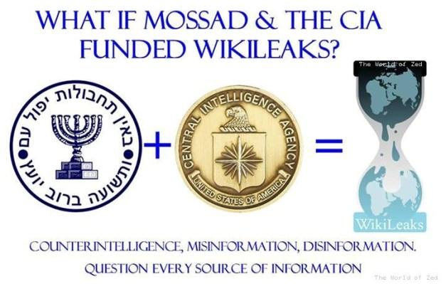 mossad-wikileaks-cia