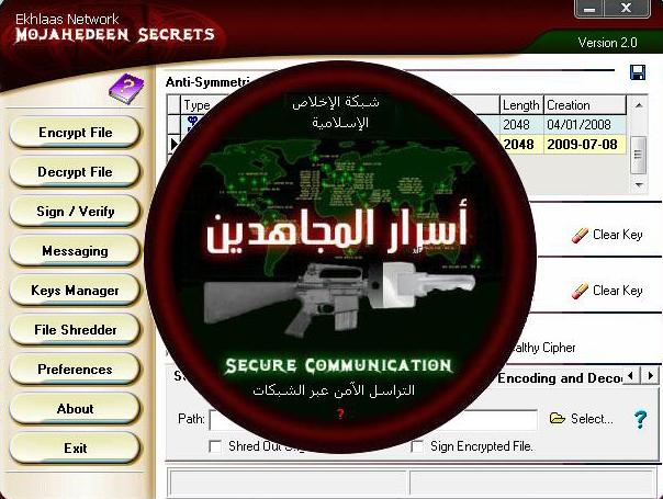 """Mi opinión: """"Mujahideen Secrets 2"""" un software para comunicarse entre  terroristas islámicos – cybermedios.org"""