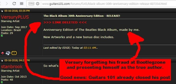 Beatles: Black Album 30th Anniversary (Versury-DeccaBeatles, un